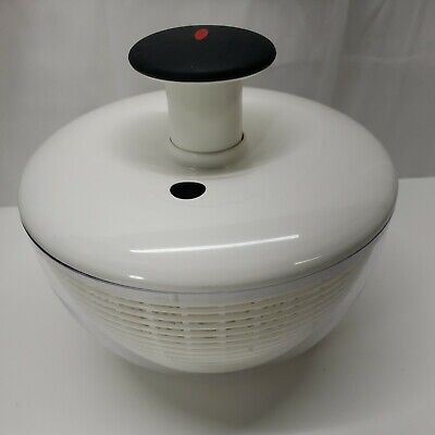 £9.55 • Buy Oxo 10  Salad Mixer Spinner With Mixing Bowl Lid Strainer & Spinner Non Slip