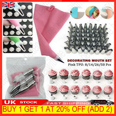 £4.99 • Buy 50PCS/Set Russian Flower Icing Piping Nozzle Topper Cake Tips Baking Decor Tool