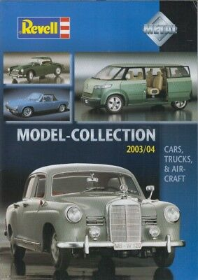 £4.50 • Buy Revell 1:12 1:18 1:24 Die-cast Model Cars 1:72 Planes 2003-04 Product Catalogue