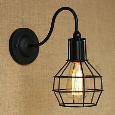 £11.77 • Buy Home Hanging Lamp Shade Cage Lampshade For Pendant Light Chandelier Holder Base