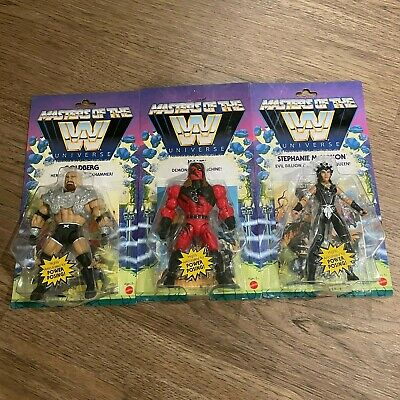 $34.99 • Buy NEW Masters Of The Universe WWE Wave 6 McMahon Golberg Kane *IN HAND*