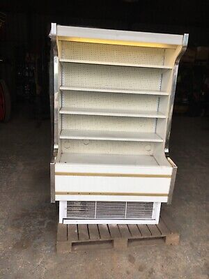 £10 • Buy Used Working Multi Deck Display Fridge With Damage To Exterior