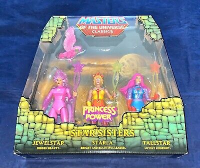 $92 • Buy Masters Of The Universe Classics Star Sisters 3 Pack With Mailer - MOTUC MOTU