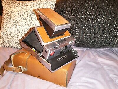 AU126.38 • Buy Very Nice! Vintage Polaroid SX-70 Land Camera W Beautiful Leather Case And Strap