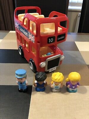 £18 • Buy ELC HAPPYLAND. London Bus And 4 X Figures Including Driver, Working Sounds