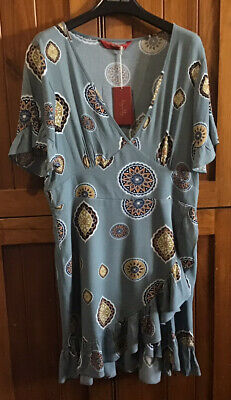 AU44.95 • Buy Tigerlily Matisse Dress Size 14 - NWT