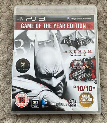 £5.99 • Buy Batman Arkham City Game Of The Year Edition PS3 Playstation 3