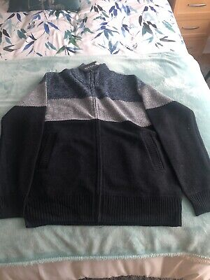 AU14.38 • Buy Bnwt Mens Etoile Zipped Jumper Top Large New Unwanted Christmas Gift