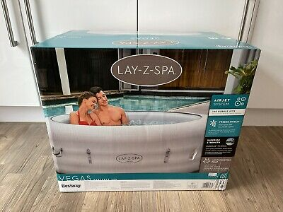 Lay Z Spa Vegas 💦 4-6 Person Hot Tub! 💦NEW 2021 Model✅ FAST FREE DISPATCH! 🚚 • 649.99£