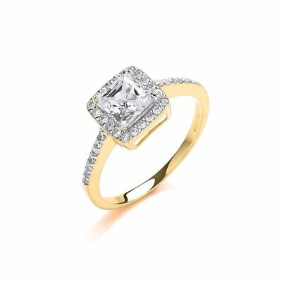 AU373.74 • Buy 9ct Yellow Gold Ladies Princes Centre Ring 10mm