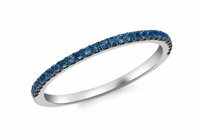 AU487.94 • Buy 9ct White Gold Sapphire Band Ring