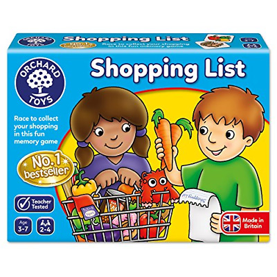 £9.07 • Buy Orchard Toys Shopping List Game