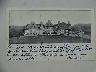 $ CDN18.73 • Buy 1903 UDB Postcard The Manor Inn Albemarle Park Asheville NC Ida Park Oquawka IL