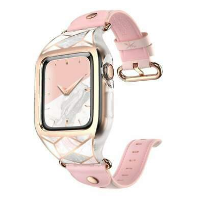 $ CDN47.21 • Buy Apple Watch Cosmo Wristband Case (38mm) Compatible Series 3/2/1 - Marble Pink