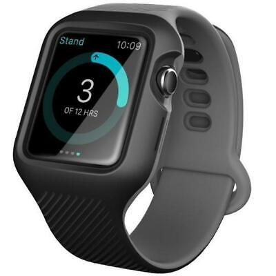 $ CDN48.21 • Buy Apple Watch Unity Wristband Case (42mm) Compatible Series 3/2/1 - Black