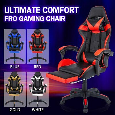 AU105 • Buy Gaming Chair Office Executive Computer Chairs Seating Racing Racer Recliner