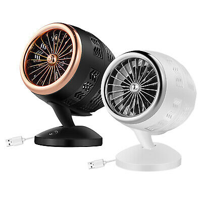 AU13.71 • Buy Portable Table Turbo Cooling Fan Quiet Cooler USB Small Air Circulator