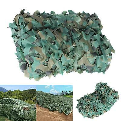 4M X 6M Camo Netting Army Camouflage Net Camping Shooting Hunting Hide Woodland • 13.59£