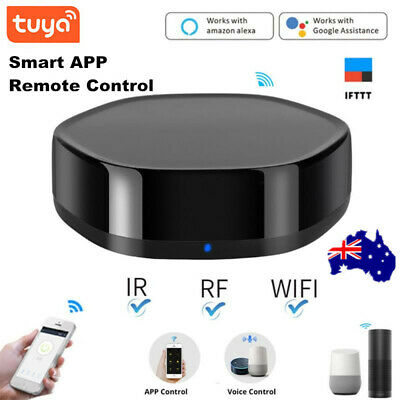 AU48.99 • Buy Tuya WIFI IR RF Smart APP Remote Control Auto VoiceControl For Alexa Google Home