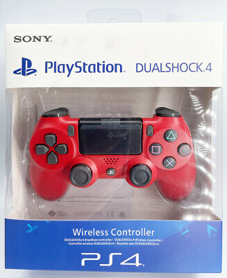 RED Sony PS4 Dualshock 4 Controller , V2 Brand New & Sealed • 20.99£