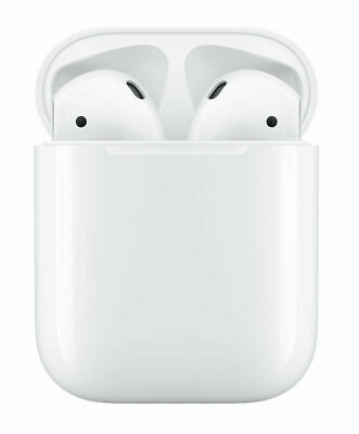 $ CDN115.72 • Buy Apple AirPods 2 White With Charging Case In Ear Headphones MV7N2AM/A
