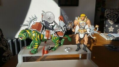 $1.36 • Buy Masters Of The Universe He-Man & Battle Cat Action Figures...200X...