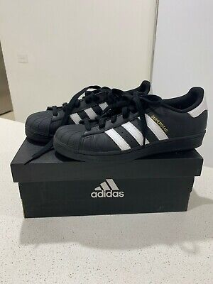 AU70 • Buy New Mens Adidas Size US 7 Black And White Superstar Shoes