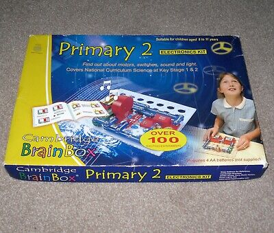 £15.99 • Buy Cambridge BrainBox Primary 2 Electronics Kit - Over 100 Exciting Experiments