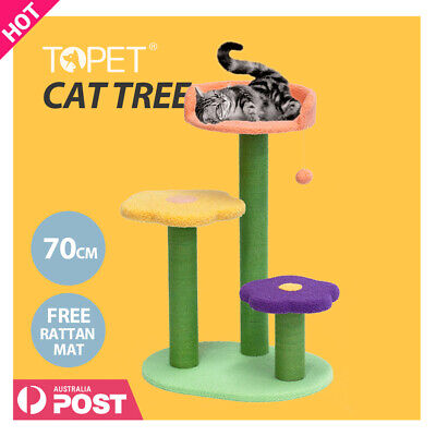 AU69 • Buy TOPET 70cm Cat Tree Trees Scratching Post Scratcher Tower Condo House Bed Toys