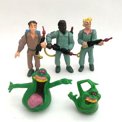 AU17.77 • Buy Vintage 1986 Yolanda The Real Ghostbusters PVC Rubber Figures X5
