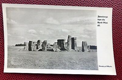 Stonehenge From The Northwest A1 Wiltshire Post Card  • 3.80£