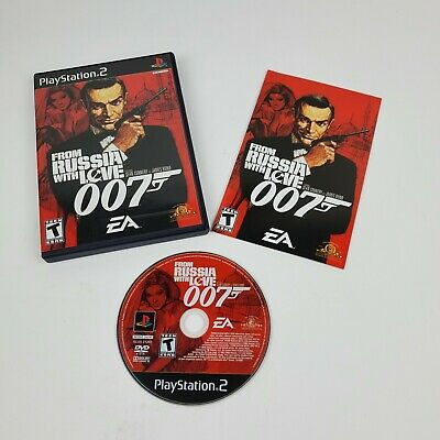 $11.99 • Buy From Russia With Love: 007 (Sony PlayStation 2) PS2 With Manual, Tested