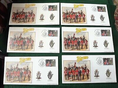 £10 • Buy Royal Irish Regiment, Rangers & Ulster Defence Regiment First Day Cover 1992.
