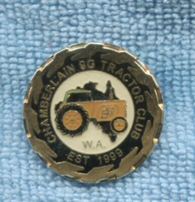 AU25 • Buy Chamberlain 9G Tractor Club Badge Est. 1999  S-589