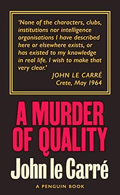 £7.98 • Buy A Murder Of Quality: The Smiley Collection