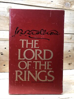 £13.93 • Buy Tolkien Lord Of The Rings Signature Box Set Vintage Houghton Mifflin 1978