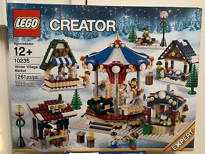 Retired New In Sealed Box Lego Creator Set 10235 Winter Village Market • 155.87£