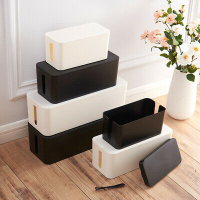 Safety Electrical Cable Box Wire Tidy Management Large Capacity Protection  B2Z • 8.79£