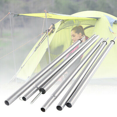 2PCS Stand Sand Outdoor Camping Beach Rod Tent Pole Tarp Support Accessories • 9.16£