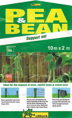 £8.84 • Buy Apollo Pea And Bean Net With 153mm Mesh 10m X 2m