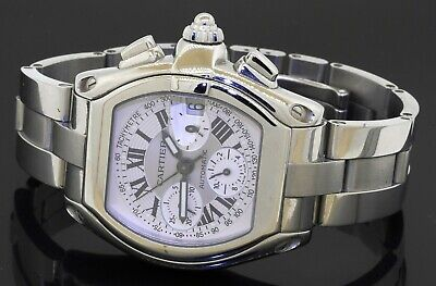 $5498 • Buy Cartier Roadster 2618 SS High Fashion Automatic Chronograph Men's Watch