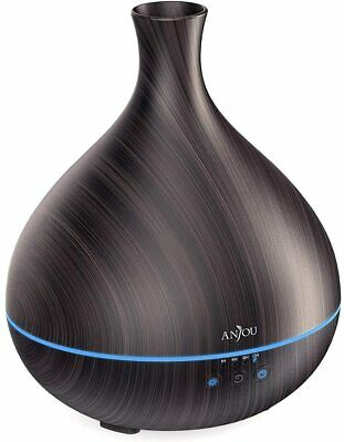 AU64.40 • Buy Essential Oil Diffuser,Anjou 500ml Cool Mist Humidifier,One Fill For 12hrs...
