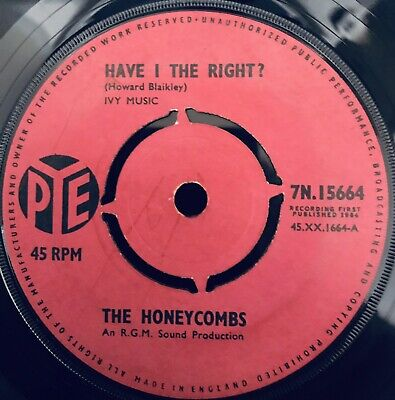 £5 • Buy The Honeycombs - Have I The Right 1964 VG Plays Great