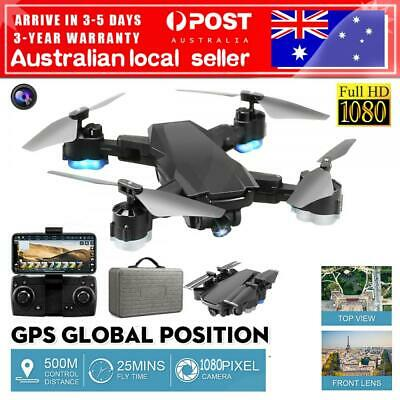 AU59.99 • Buy  AU 2.4G RC Drones GPSxPro With 1080P Camera Wifi FPV Quadcopter Brushless Drone