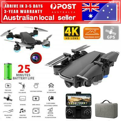 AU116.99 • Buy AU GPS Drone With 5G Wifi FPV 4K HD Camera RC Optical Quadcopter Brushless Dron