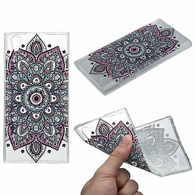 $ CDN18.26 • Buy Henna Cover For Sony Xperia XA1 Ultra Case Silicone Case Tattoo Colorful New