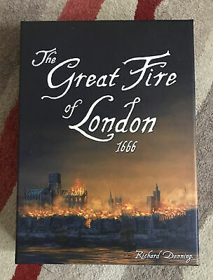 £15 • Buy The Great Fire Of London 1666 Board Game
