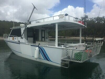 AU150000 • Buy Commercial Fishing Or Just Family Leisure Boat - Power Monohull