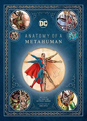 AU71.53 • Buy S.d Perry-dc Comics: Anatomy Of A Metahuman Bookh New