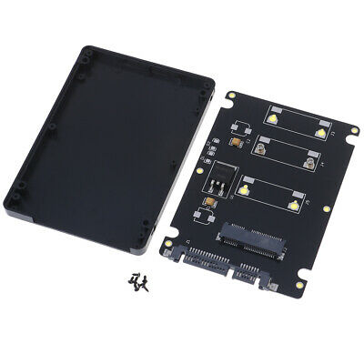 AU12.64 • Buy Mini Pcie MSATA Adapter SSD To 2.5 Inch SATA3 Adapter Card With Case、ccrewS Pn
